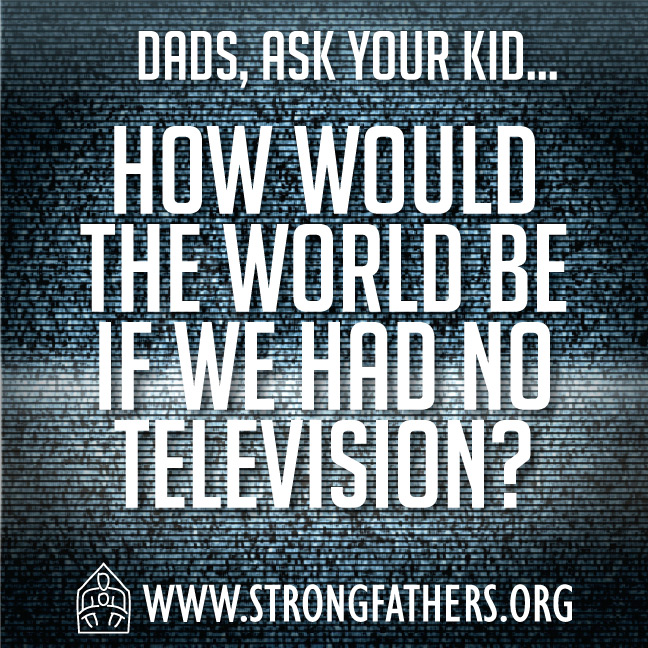 How would the world be if we had no television?