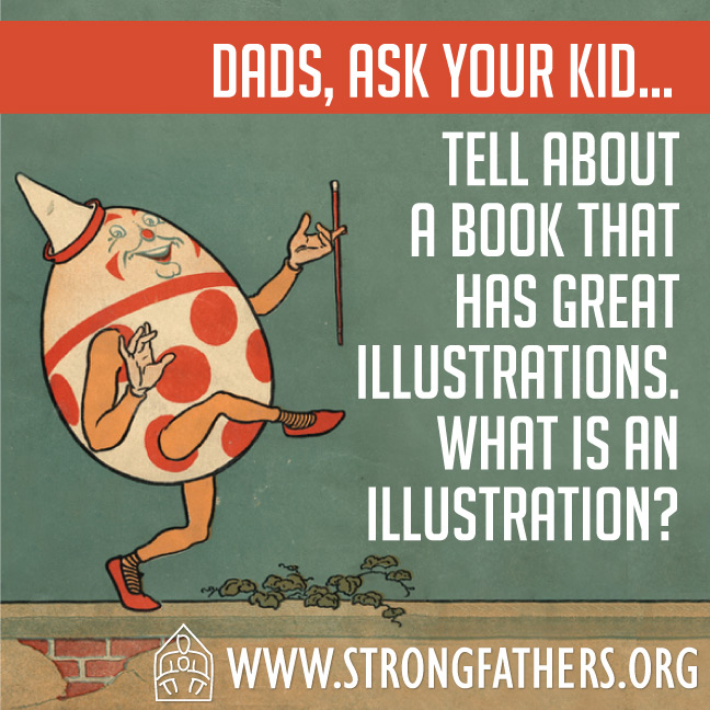 Tell about a book that has great illustrations.  What is an illustration?