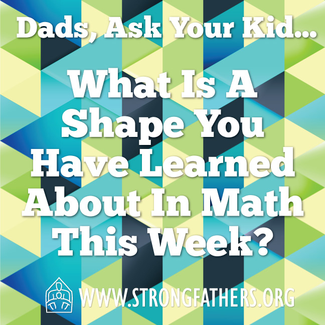 What is a shape you have learned about in Math this week?