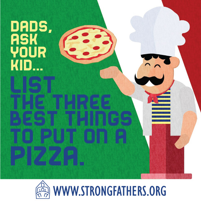 List the 3 best things to put on a pizza