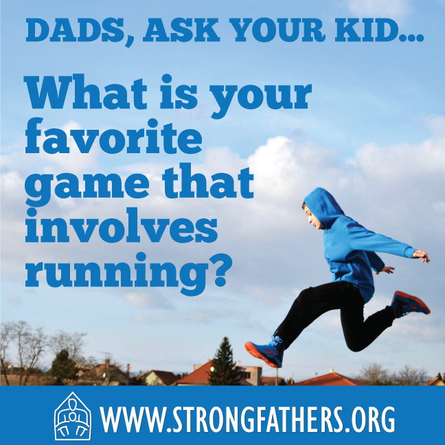 What is your favorite game that involves running?