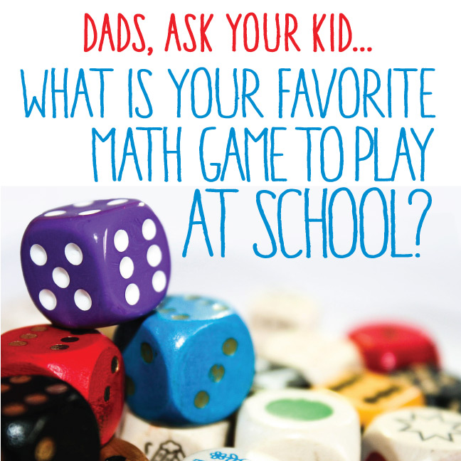 What is your favorite math game to play at school?