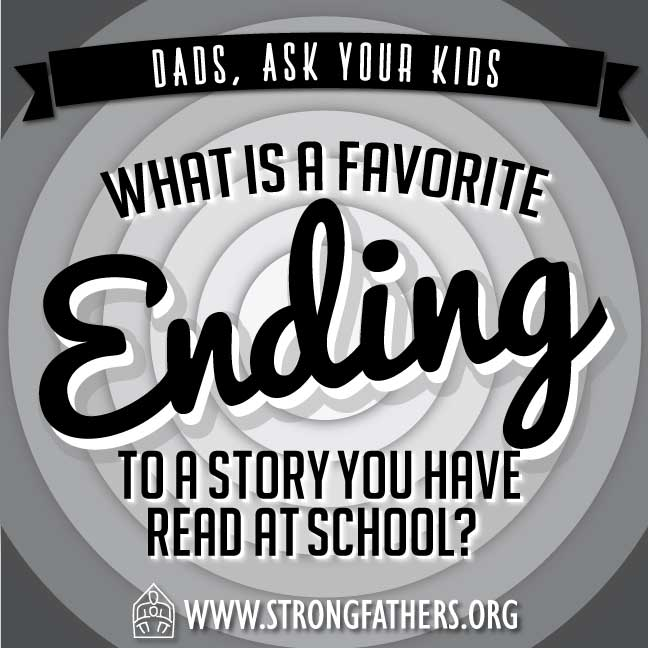 What is a favorite ending to a story you have read at school?