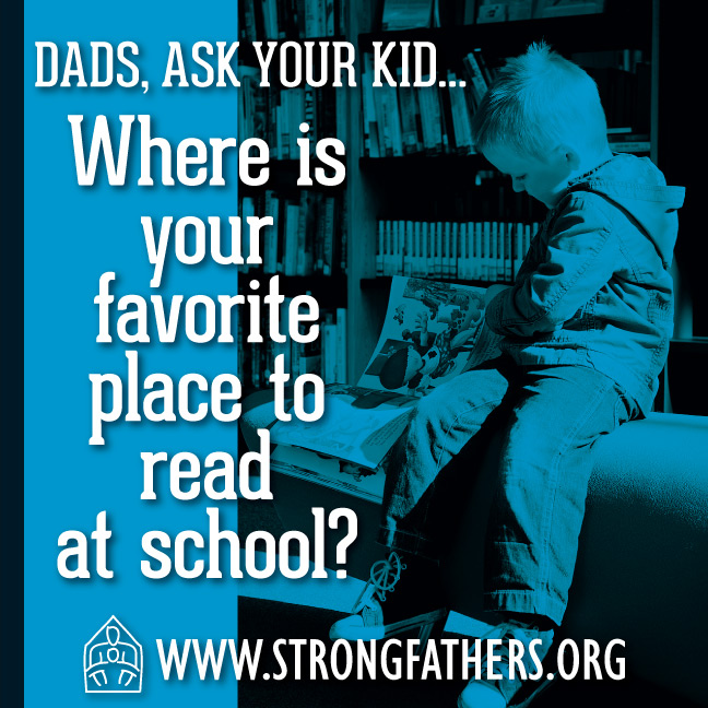 Where is your favorite place to read at school?