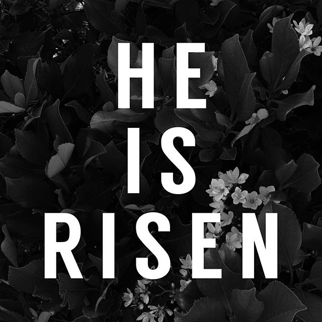 HE IS RISEN INDEED! Happy Resurrection Day from our family to yours. We hope you sense the presence of God in a profound way today as you remember the victory Christ had over sin and death. Because he died and rose again we can live!