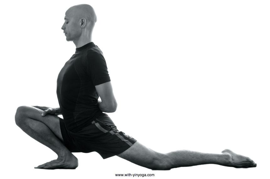 Dragon Pose With Yin Yoga
