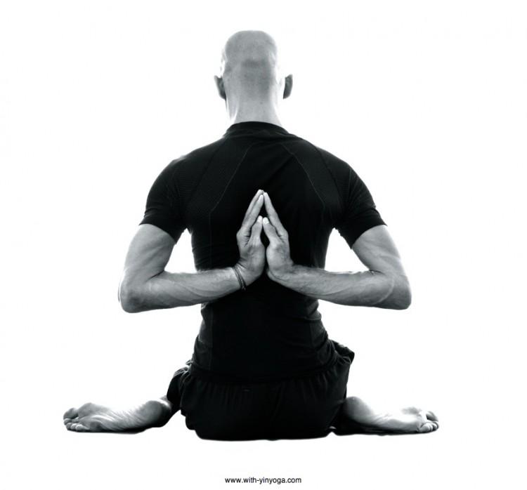 Back Namaste Pose