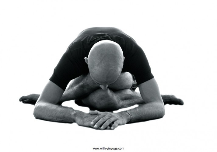 Shoelace Yin Yoga Pose