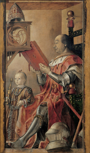 I always put on a full coat of armor when I settle in with a good book.  Federigo da Montefeltro, by Pedro Berruguete, c. 1480