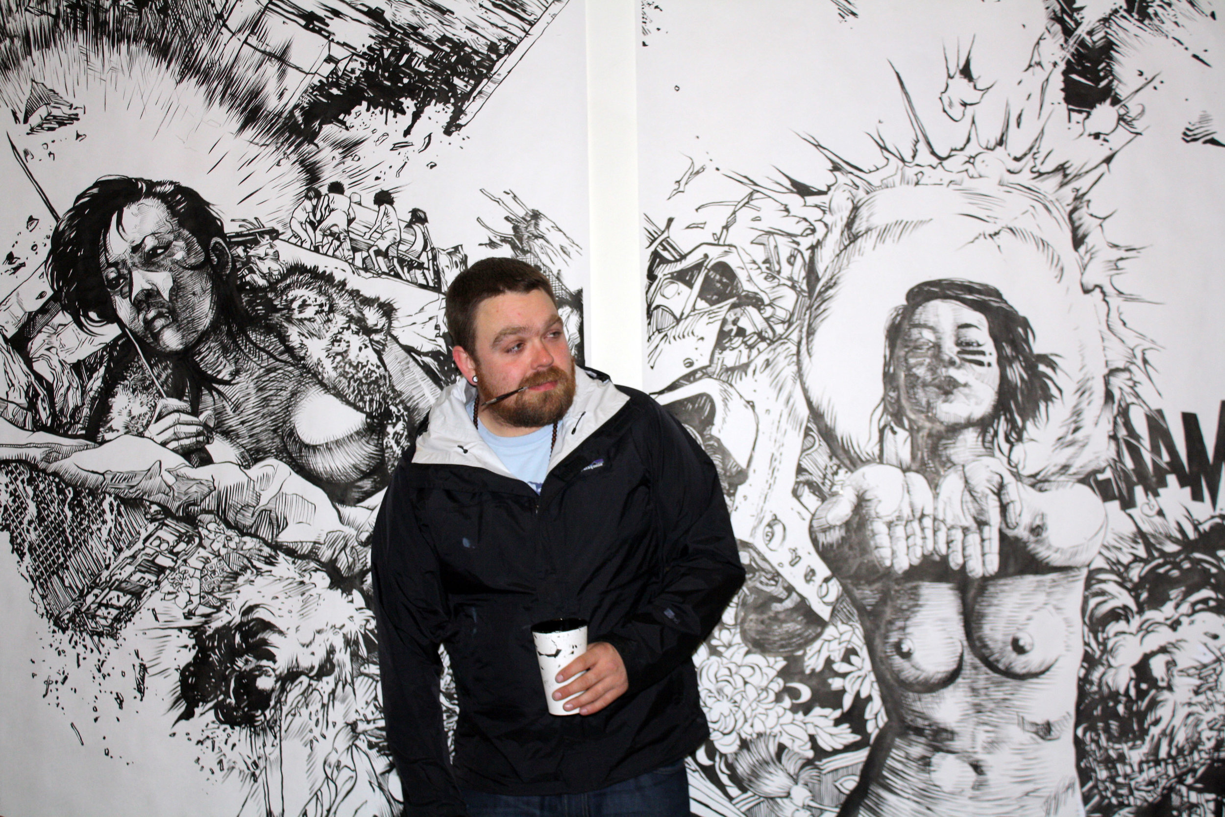 Me at my house/studio in San Francisco 2011