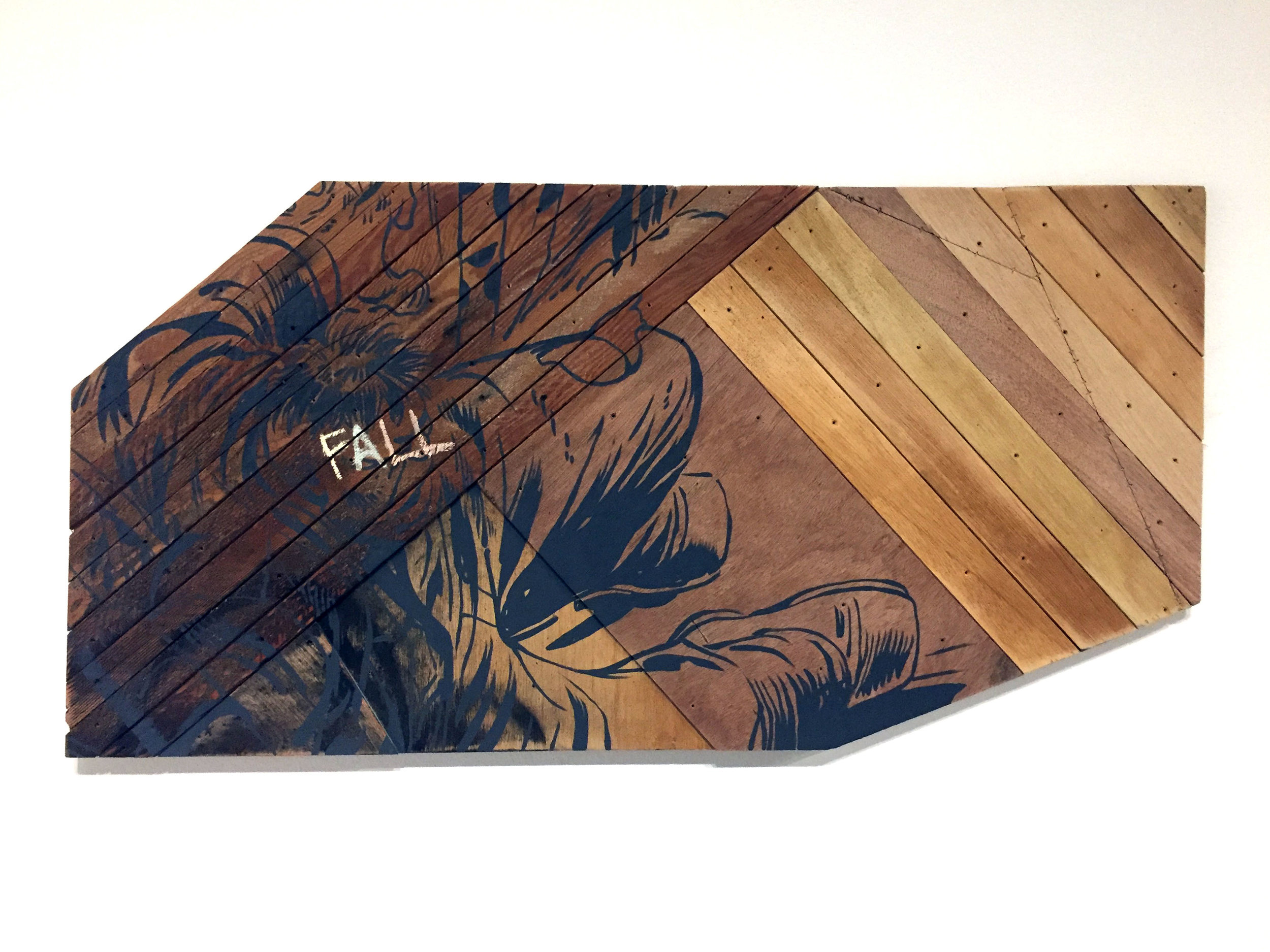 The Fall, made at Aggregate Space Oakland, 2017
