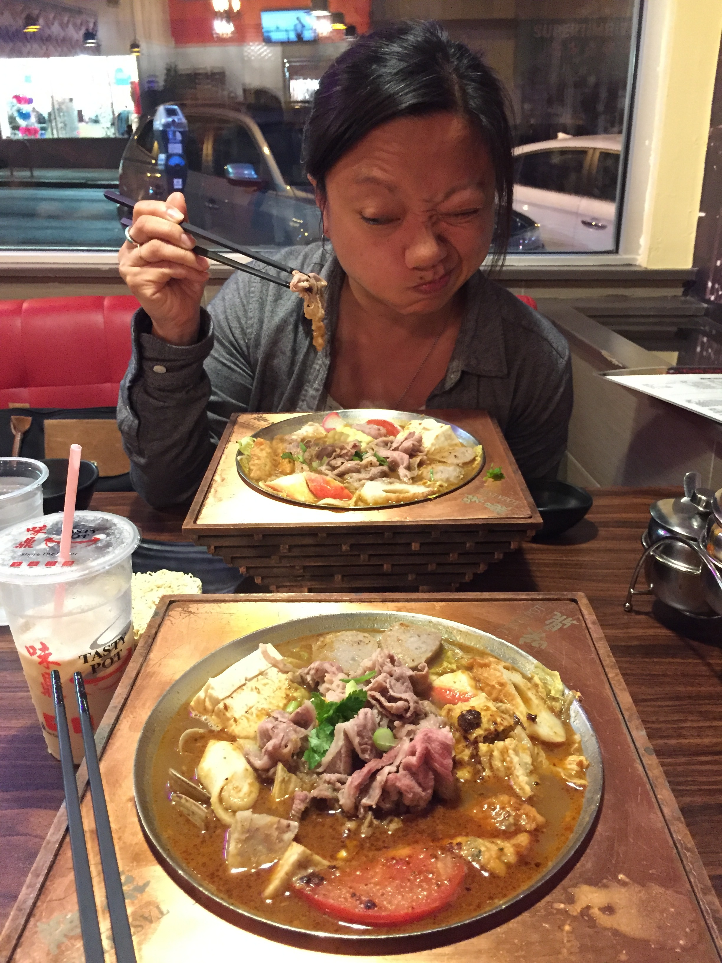 Eating Hot Pot in the Sunset with Tiffani Chan
