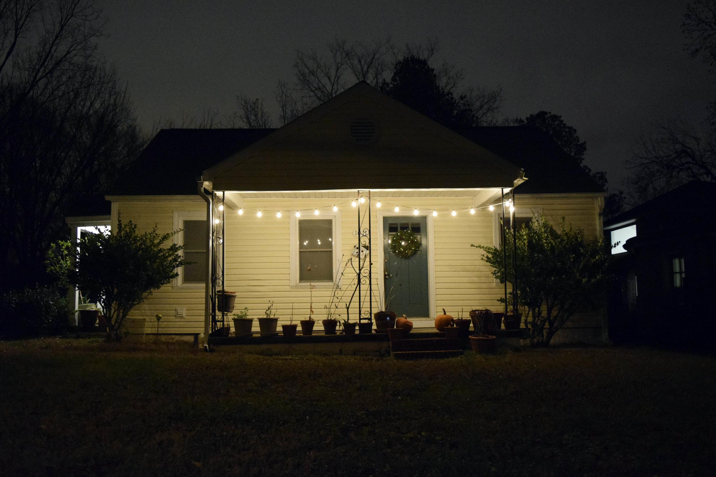 A Durham Home on a Winter Night, John Felix Arnold III, 2017