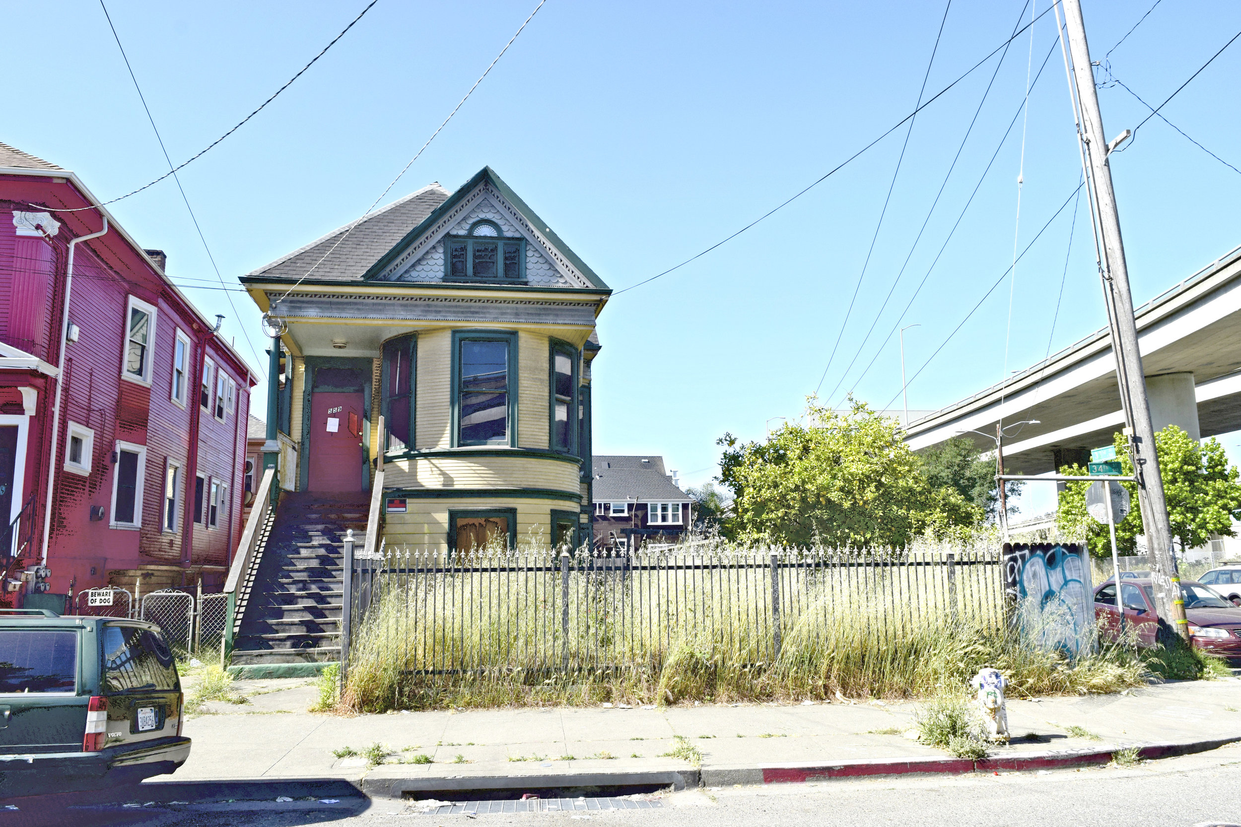West oakland haunted house, 34th.jpg