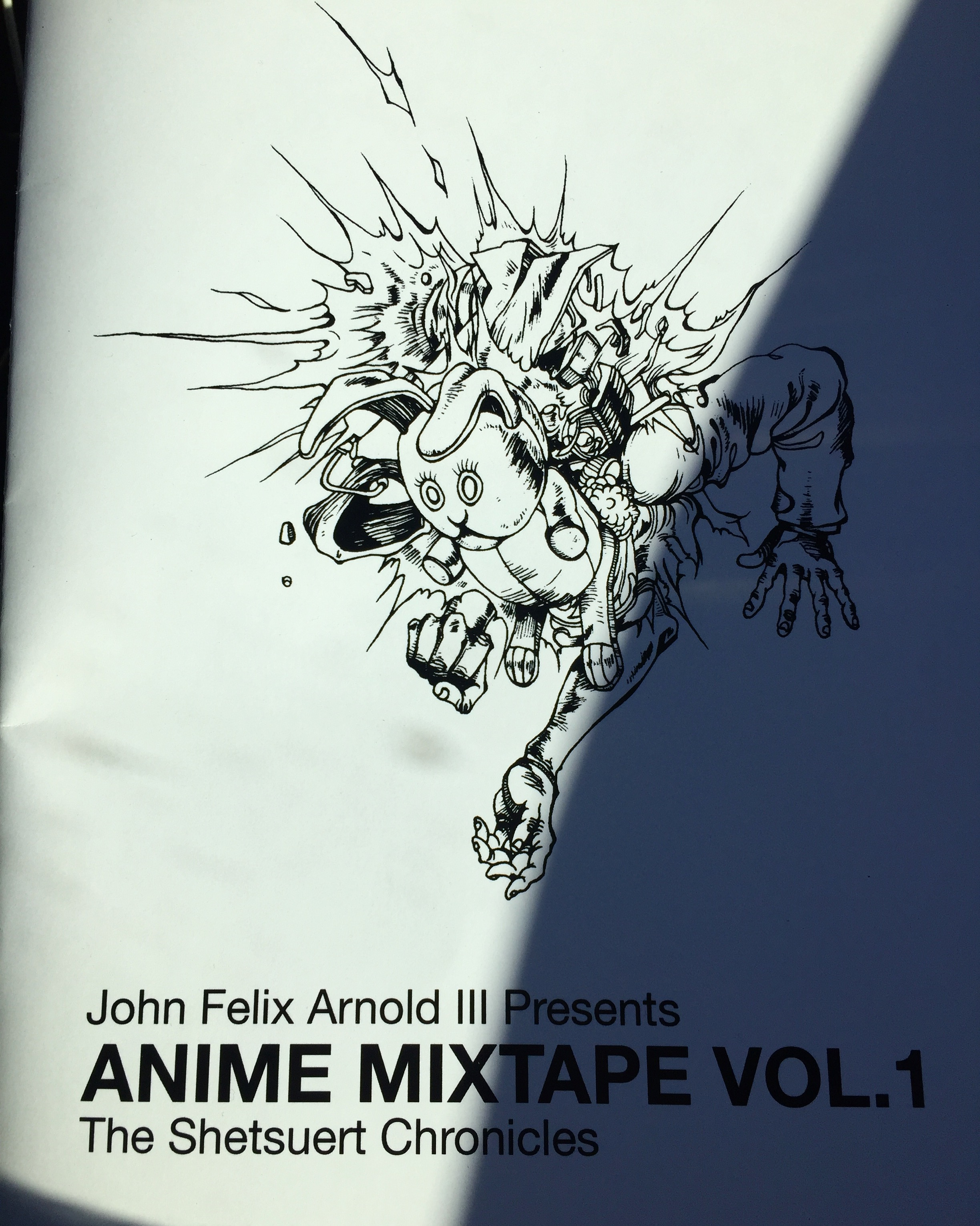 Anime MIxtape Zine