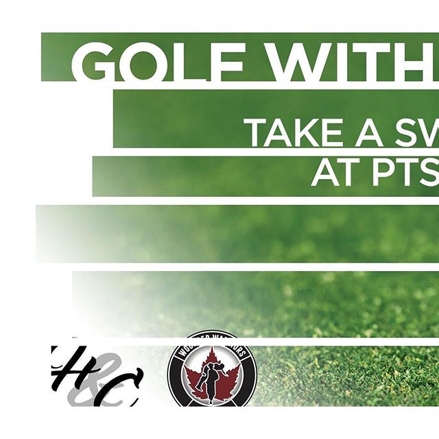 Calling all golfers! 🏌️♀️ 🏌️ Pick up your clubs for a great cause!  The Health & Charity Golf with a Hero event is coming up fast!  Help raise funds for Wounded Warriors Canada, and paramedic service dog Max, to help those who suffer with PTSD.  Veterans, military members, and first responders will be part of those golfing; what a great way to honour those heroes.  I call that a hole in one! ⛳️ Check out the events link in the bio to purchase your tickets.  #inthistogether #kickbackgiveback  @woundedwarriorscanada @max_4300 @stonebridgeclub #ptsd #veterans #firstresponders #ottawa #ottawabiz #golf #ottawagolf #fundraising #canadianforces #ottawaparamedicservice #ottawafireservices #ottawapolice #dog
