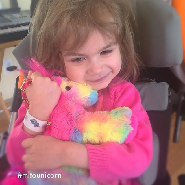 Have you met Audrey? .  She was supposed to be one of the guests to last year's Thank You Gala. .  Her smile, love of life, and demeanour made everyone around her feel special, creating an instant fondness for her. . .  When we learned that this little @mitounicorn lost her fight, 10 days prior to the event, the entire Health and Charity team was heart broken. . .  Her family was very thankful for the extra time they had with her, thanks to all the hard work and research in her hospital network. This is the reason why this year's Thank You Gala will gather funds for @mitocanada and @cmn_canada . . . . . . #kickbackgiveback #mitounicorn #mitocanada #miraclenetwork #ottawa #ottawaevents #gatineau #kidshospital #cheo #stollerychildrenshospital #operationenfantsoleil #charityfundraiser