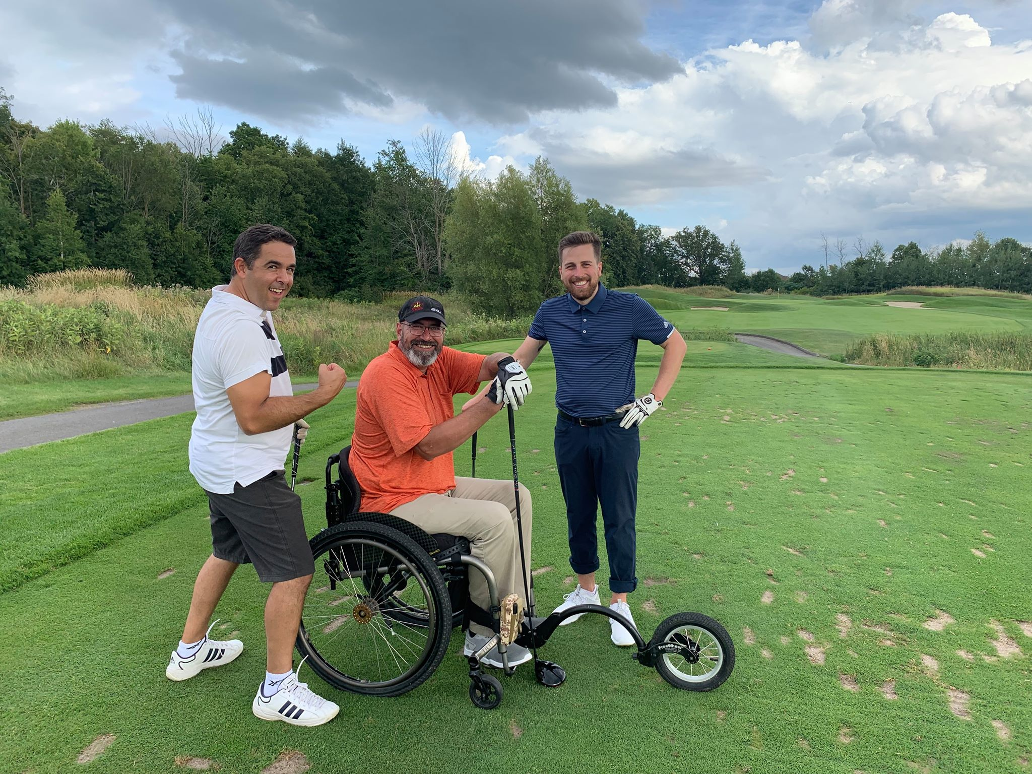 Golf with a hero 2019 - Wednesday, August 21st, 2019   Golf With A Hero event to raise funds for Wounded Warriors Canada on August 21, 2019 at The Beautiful Stonebridge Golf Club. People spent the day golfing with a Hero from our community. Each foursome was comprised of 3 paid golf spots, and one hero (veteran or first responder.) We would like to thank everyone who attended and a special thank you to our supporting sponsors.
