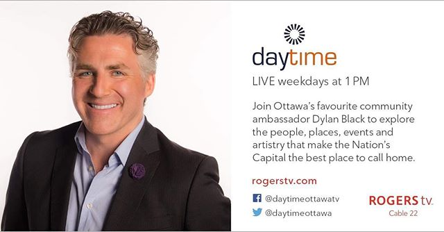 We are so excited that our friend @dylanblackradio will be joining us again at this year's Thank You Gala. . . . He's also going to be chatting with us next week on @rogerstvottawa ! . . . We cannot wait to see him and talk all about the amazing evening we are going to have for tremendous causes. . . . . . . #ottawa #ottawaevents #kickbackgiveback #rogerstv #cchf #kidshealth #mitocanada #mitounicorn #ottawacharityevent