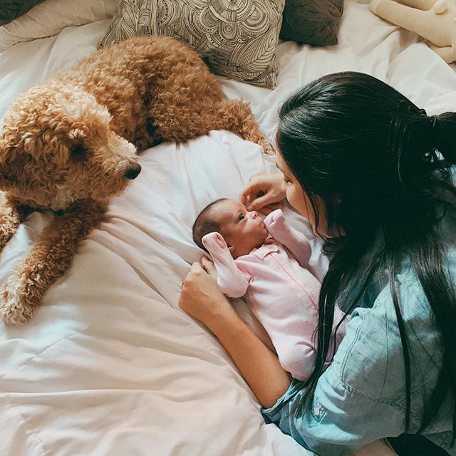 Delighting in this good gift 💕 Happy Due Date @olivia.marie.ferreira