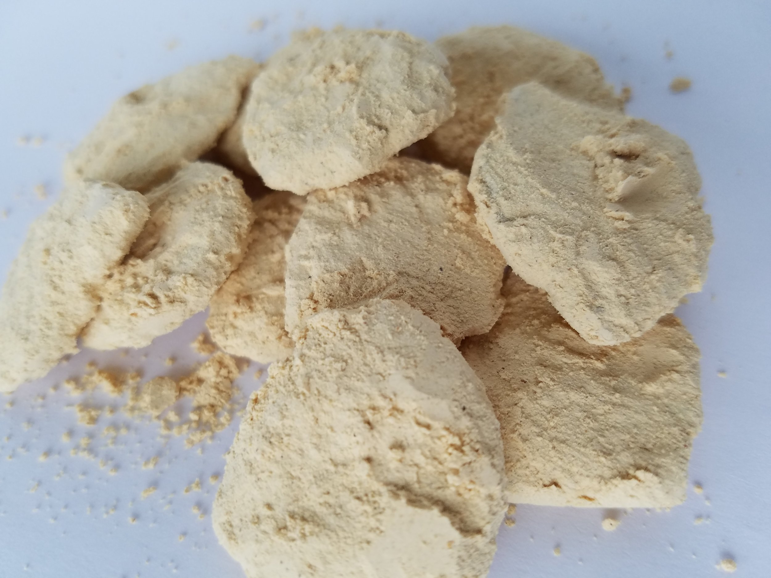 Banana and Peanut-powder