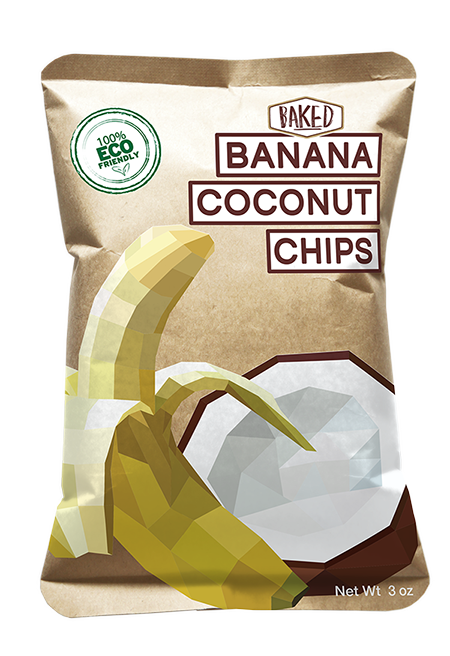 fly-green-snacks-baked-banana-coconut-chips-compostable-packaging-flat-design