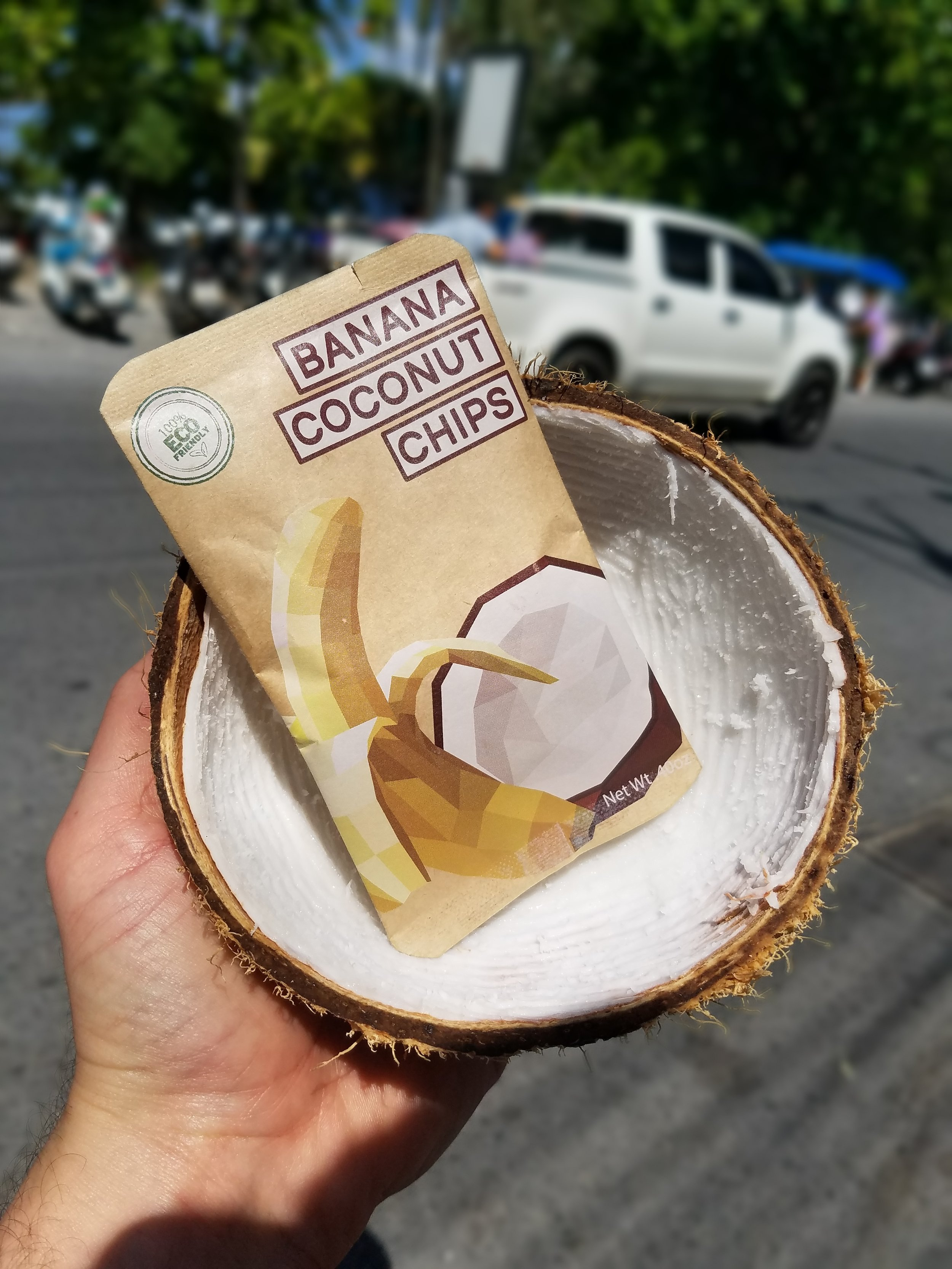 Snack in a Coconut