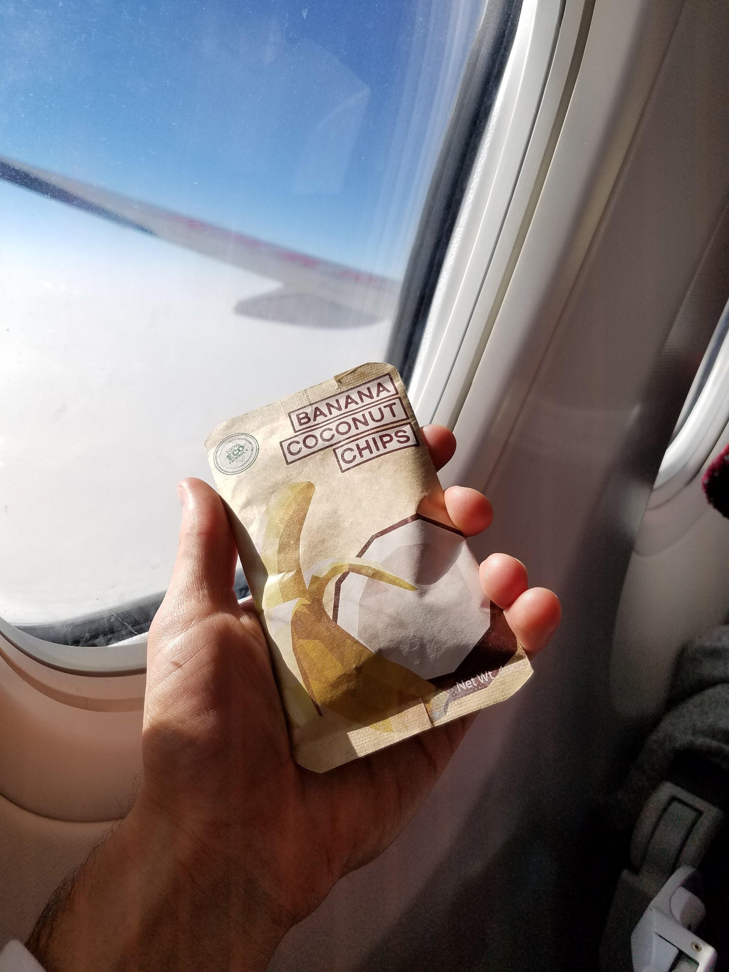 In-flight Snacking