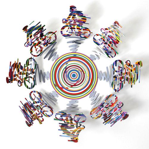 DAVID GERSTEIN Bowl Cycle Small  Original Metal Sculpture | Open Edition