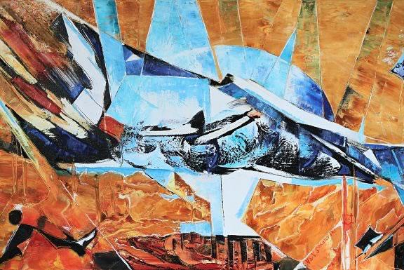 VALERI SOKOLOVSKI  Mirage Oil on canvas 24 x 36