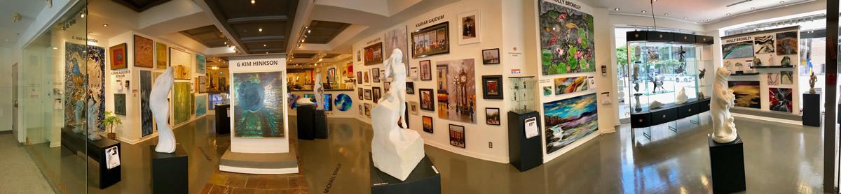 LeSoleil Fine Art Gallery - Interior Entrance