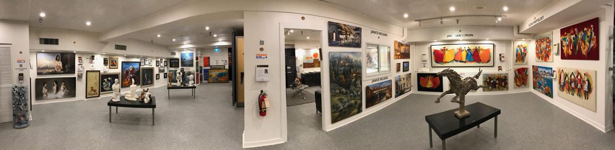 LeSoleil Fine Art Gallery - Downstairs 3