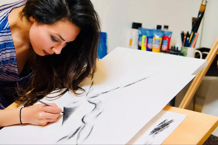 Vancouver artist Mehrnoosh Sabouri