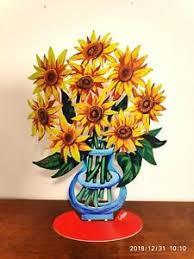 DAVID GERSTEIN  Flowers-Sunflowers Small