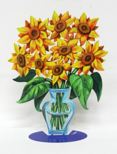 DAVID GERSTEIN  Flowers-Sunflowers