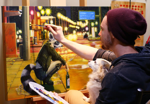 Josh Harnack Vancouver Artist
