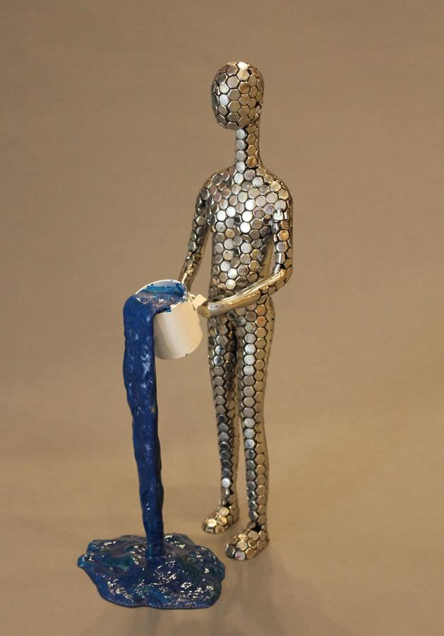PRIYARYAN  I-Paint Original Sculpture 12 Inches
