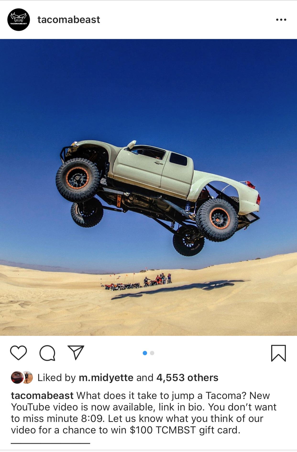 how to launch a tacoma!