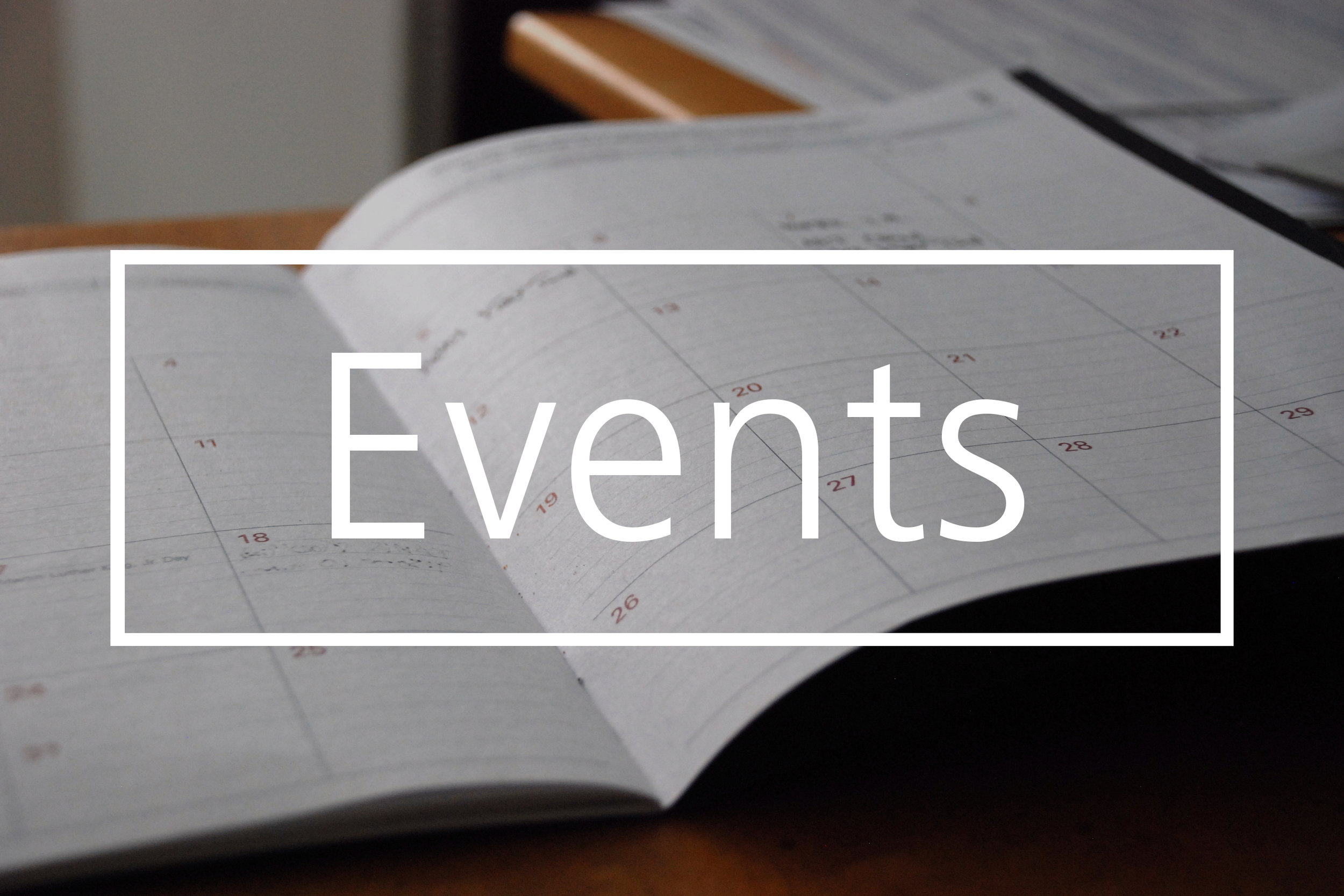 Events and calendar