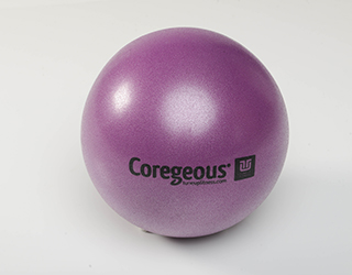 "People often roll their eyes when i don't bring the ""hard balls"" but are quickly converted. This squishy ball can be a restorative dream or a sticky spot … I don't want to say nightmare - ha ha - but it can offer some intense sensation as well. Great for working boney areas like the ribs, spine and even the neck and face. a must have for those who really want to work fascia on deeper levels. this ball can also be used for a pilates like approach to core work."