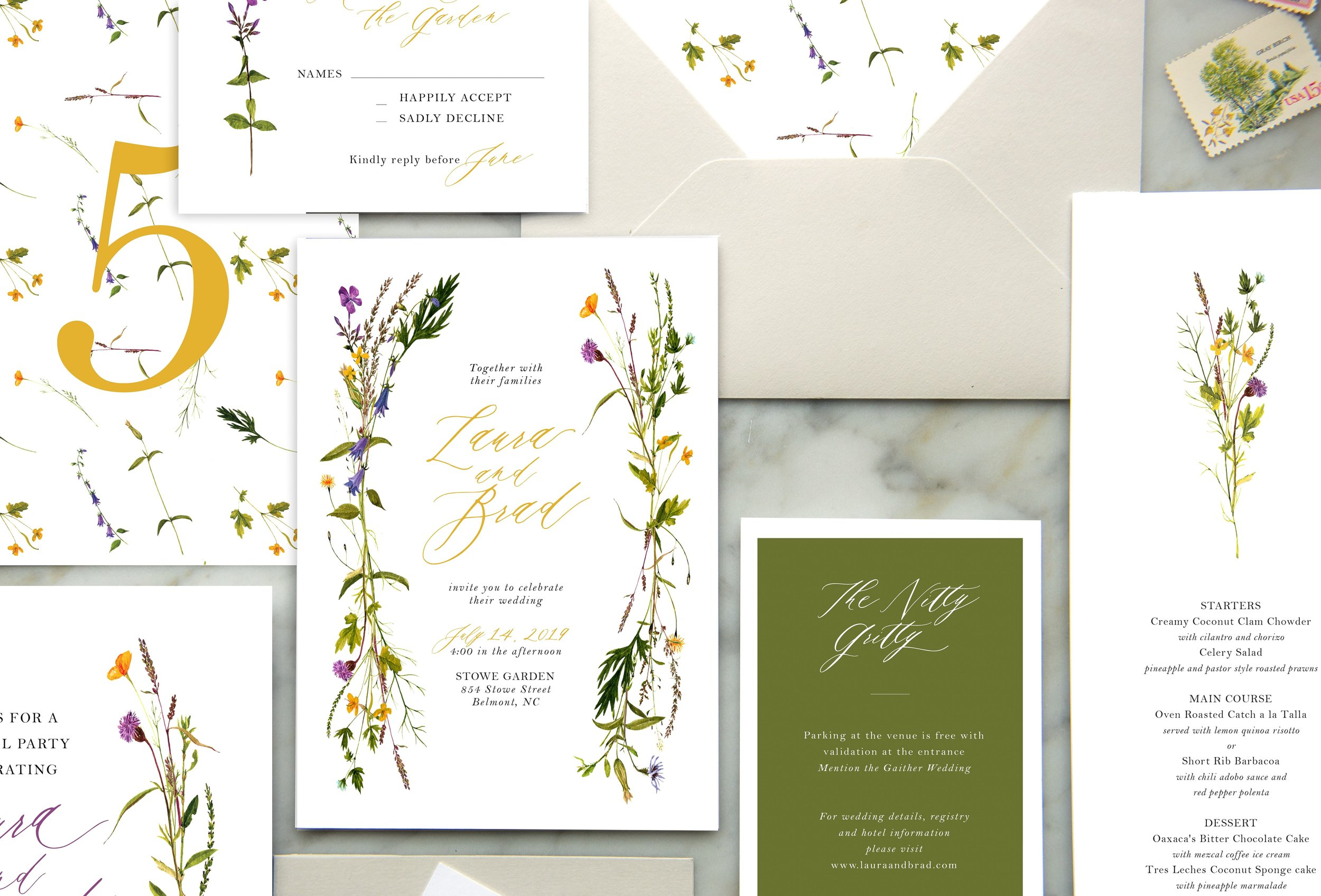 The Collections - Our new Semi-Custom Shop for invitations, Save the Dates, Shower invites, and Day Of Goodies!
