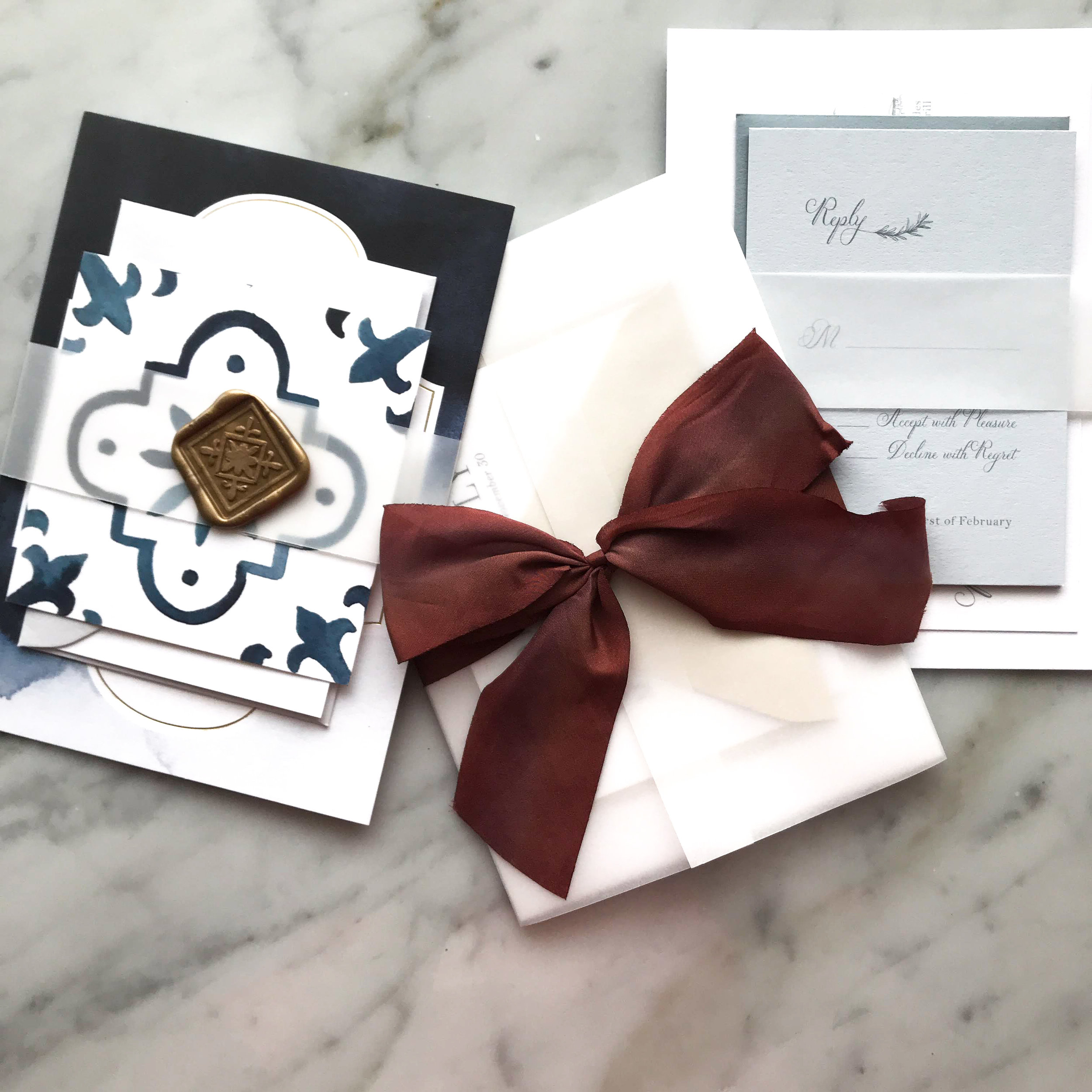 invitation wrap ideas