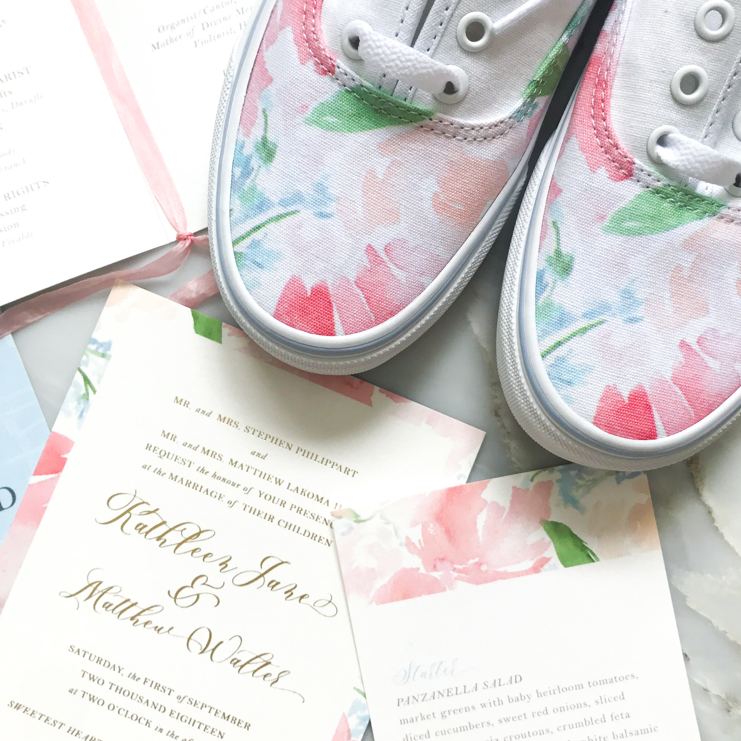 custom wedding sneakers