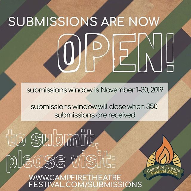 submissions are now OPEN! get those scripts in!