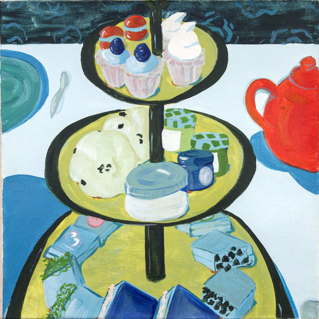 TEA PARTY IN BLUE, 2014