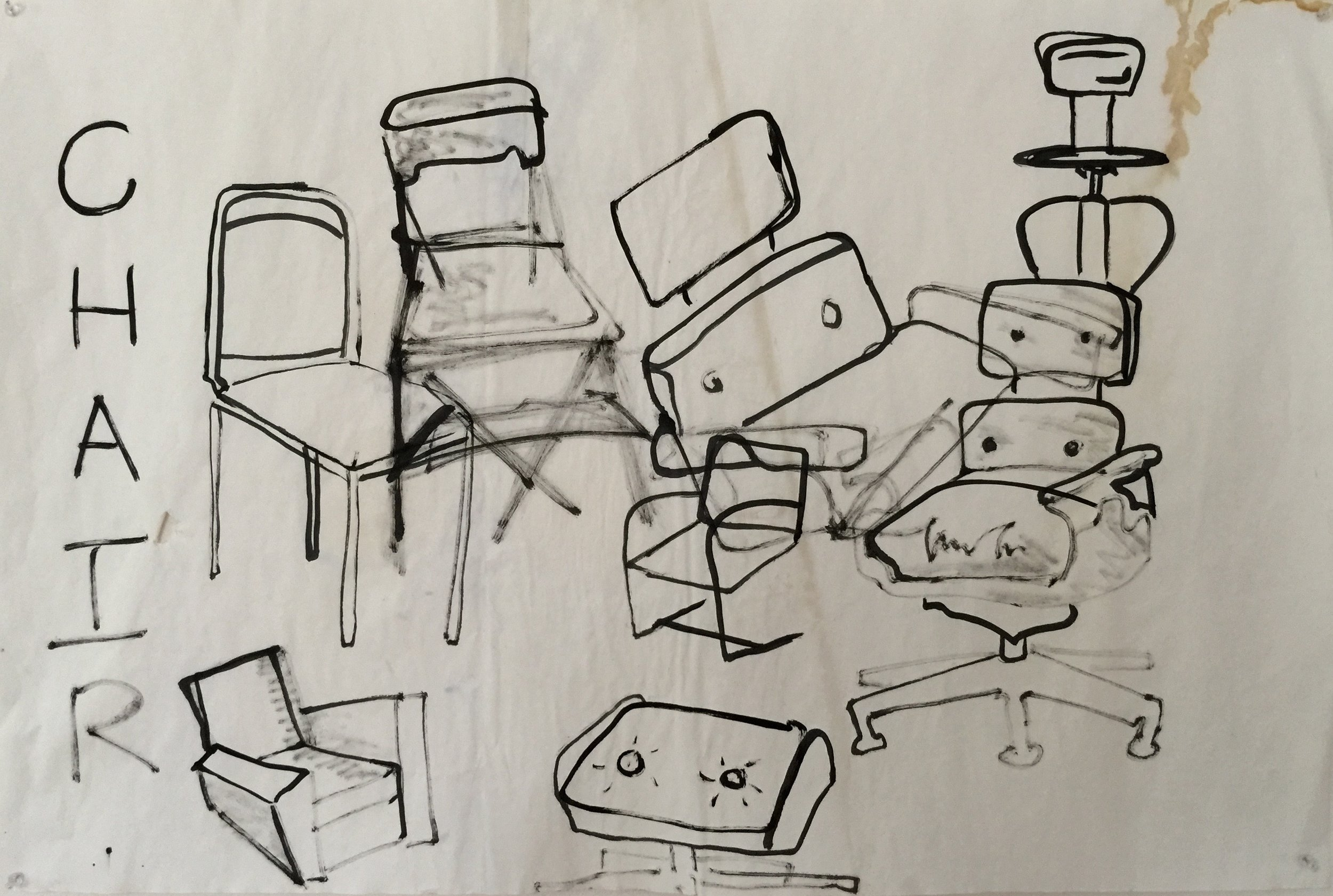 CHAIRS AND STAINS, 2015