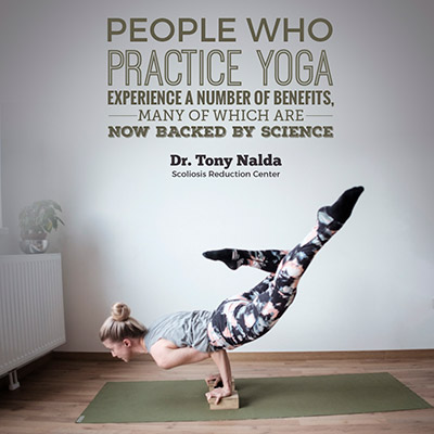 People that practice yoga experience a number of benefits, many of which are now backed by science.