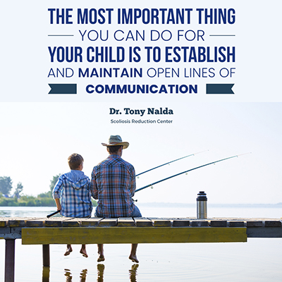 The most important thing you can do for your child is to establish and maintain open lines of communication