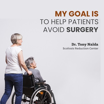 """My goal is to help patients avoid surgery."""