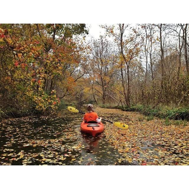 White Rock Creek KayakingoOwl Hat.jpg